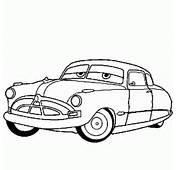 Coloriage De CARS Doc Hudson  Coloriages &224 Imprimer