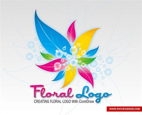 tutorial corel draw vector tutorial criando uma logo floral no coreldraw