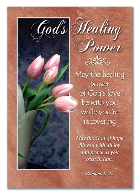 Get Well Greeting Card Verses 12 get well cards god s healing power with christian