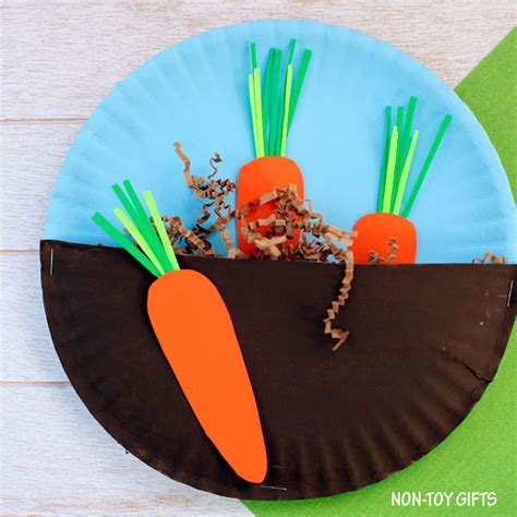 carrot craft for carrots in the garden family crafts