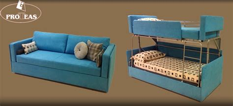 a sofa bed which turns into bunk beds twinny morphs into bunk bed within seconds