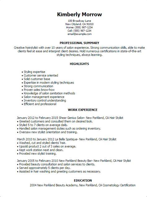 Fashion Stylist Resume Sample – Fashion #Stylist Example Resume (resumecompanion.com