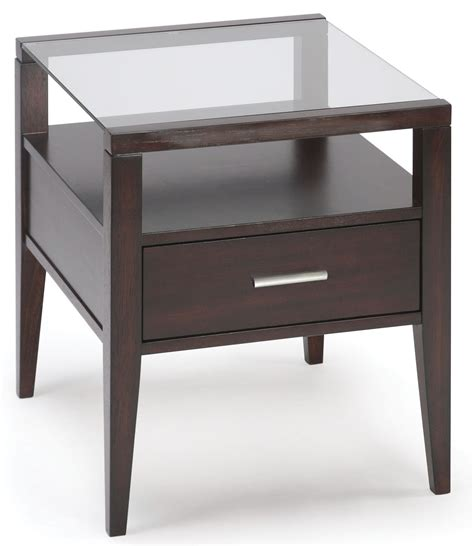 baker furniture end table baker rectangular end table from magnussen home t1393 03