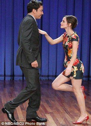 emma watson on jimmy fallon emma watson shows jimmy fallon her moves emma watson