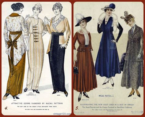 clothes pattern magazine 1910 women s clothing dresses photo credits 4 march