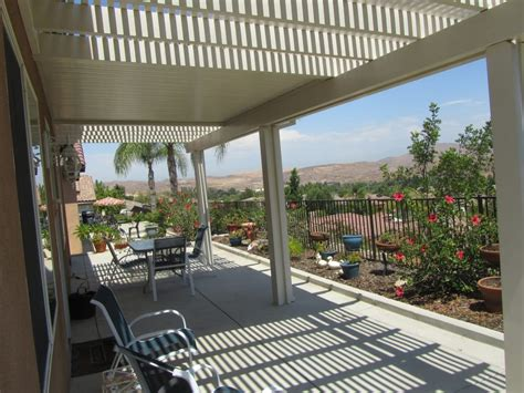 Patio Covers Ontario Ca Combination Solid And Lattice Patio Cover Yelp