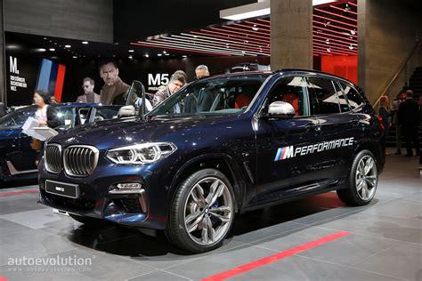 Abmessung Bmw X3 by 2018 Bmw X3 M40i Marks The Start Of A New Era In Frankfurt