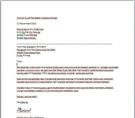 contoh format surat kiriman rasmi scribd read the knownledge