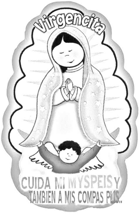 Virgin Of Guadalupe Coloring Pages Coloring Pages Imagenes De La Virgen De Guadalupe Para Colorear