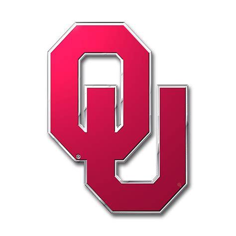ou colors oklahoma sooners color emblem car or truck decal team