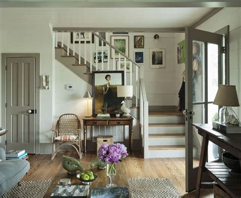 country farmhouse my home blue interiors grey and staircases