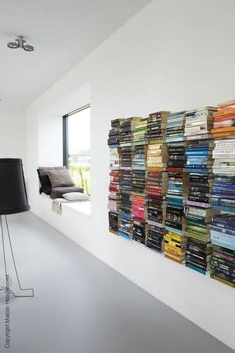 1000 ideas about floating books on shelf