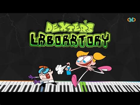 cartoon themes midi dexter s laboratory main theme piano tutorial