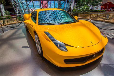 modifikasi warna motor sport gambar mobil sport warna kuning terbaru sobat modifikasi