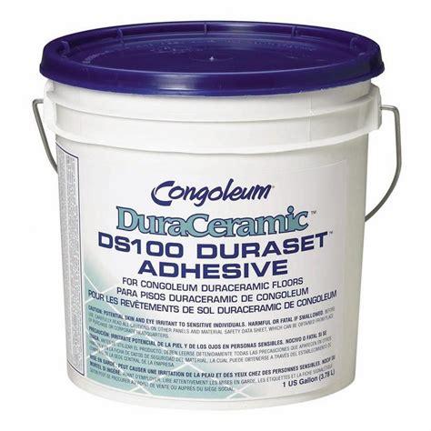 shop congoleum 1 gallon trowel vinyl tile adhesive at lowes com