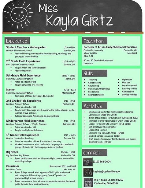 creative and extraordinary resume for any level education this chalkboard themed resume is for a