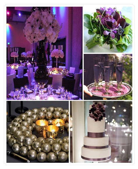 choose your wedding colors purple tones have your dream