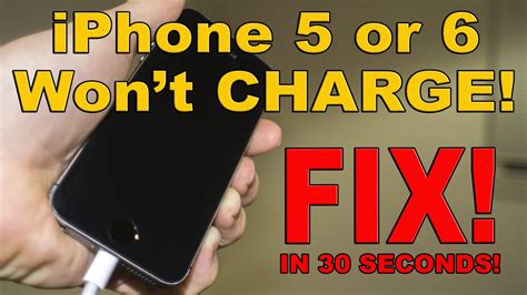 iphone 5 wont charge fix iphone 6