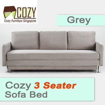 cozy and comfortable enveloppe sofa qoo10 cozy comfortable 3 seater sofa bed front extension