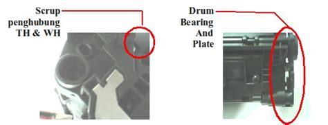 Bushing Kanan Kiri Magnet For Use In Laserjet P1566p1606 Berkualitas タリ子とよしひろ 15 langkah isi ulang cartridge laserjet p1006 35a