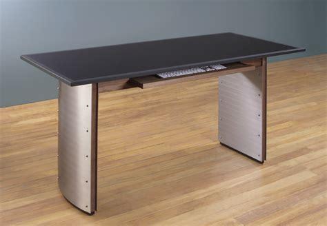 Walnut computer desks stone top computer desk granite top desk stoneline designs