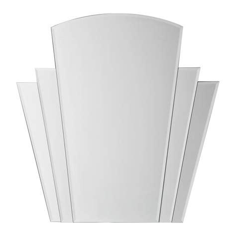 deco fan wall mirror buy shinto 3 fan deco mirror mirrors the range