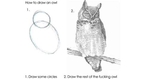 How To Draw An Owl Meme - japan s draw the owl meme has a harry potter twist