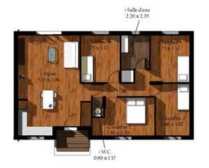 plan bois en kit pas cher maison eco bois