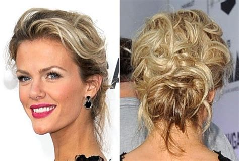 casual hairstyles at home brooklyn decker s casual updo do it yourself how to