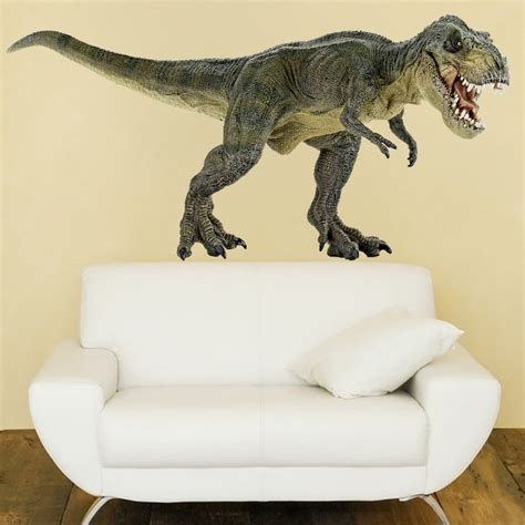 large dinosaur wall stickers dinosaur wall decal trex decal animals wall decal