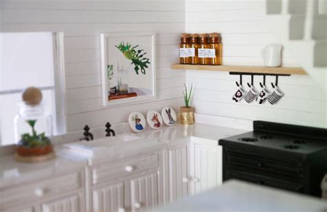 dolls house kitchen furniture this handmade dollhouse will your mind front