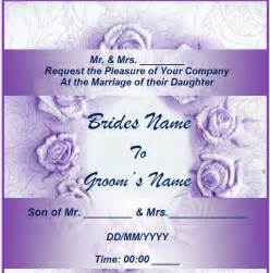 wedding invitation wording wedding invitations excel templates