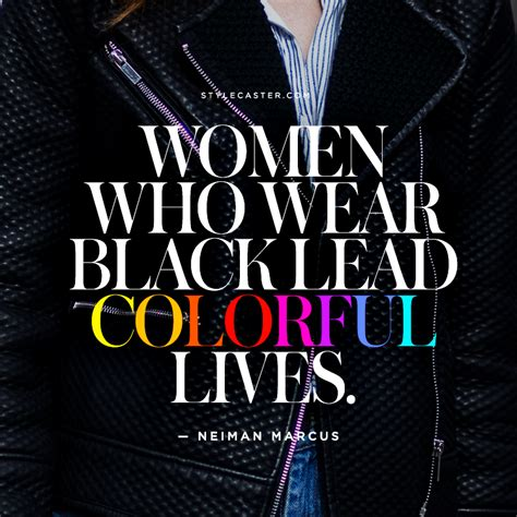 quotes about color the best fashion quotes on the color black stylecaster