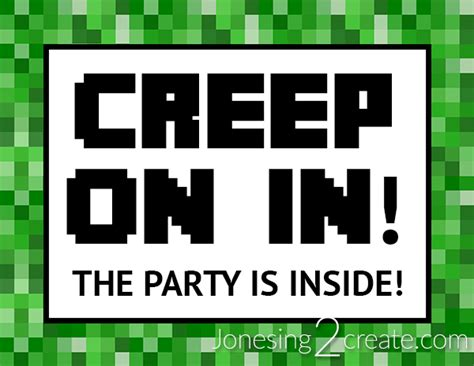 Kitchen Entryway Ideas by Minecraft Birthday Party Jonesing2create