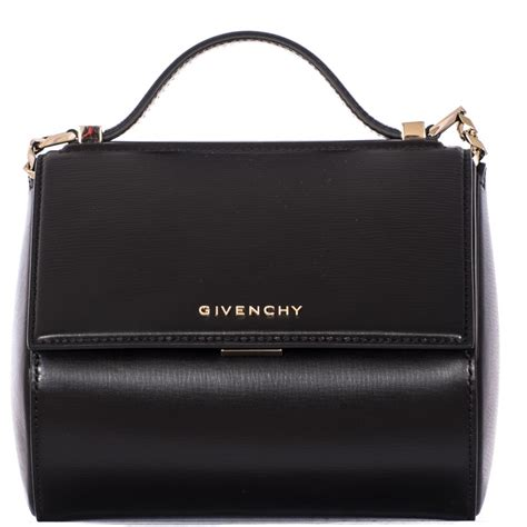 givenchy pandora box chain mini bag in black lyst