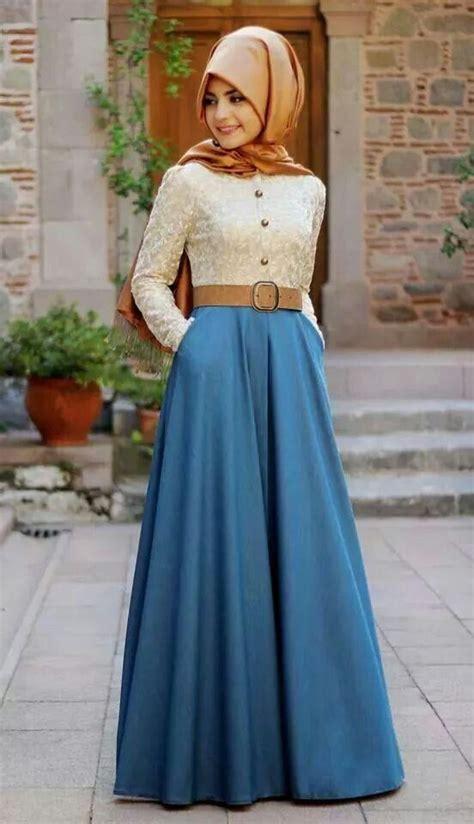 Baju Busana Muslim Masa Kini contoh model baju muslim untuk pesta terbaik 2015
