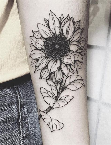 tribal sunflower tattoo 20 of the most boujee sunflower ideas cool