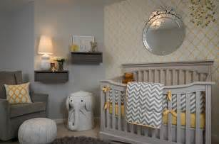 Pink And White Striped Bedroom Walls - 21 gorgeous gray nursery ideas