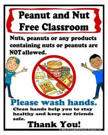 thriving allergies food allergy alert daycare handouts posters