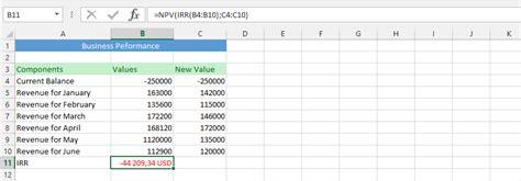 excel tutorial npv best excel tutorial understanding the irr function and