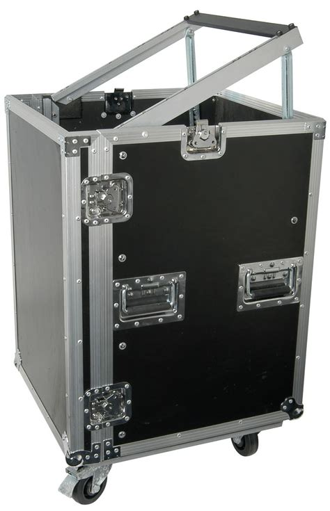 Pa System Rack Cabinet by Citronic 19inch Rack Equipment Flight With Wheels