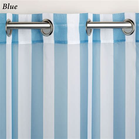 stripe grommet curtain panels escape stripe outdoor grommet curtain panels