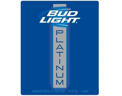 bud light platinum content bud light platinum budweiser s higher option