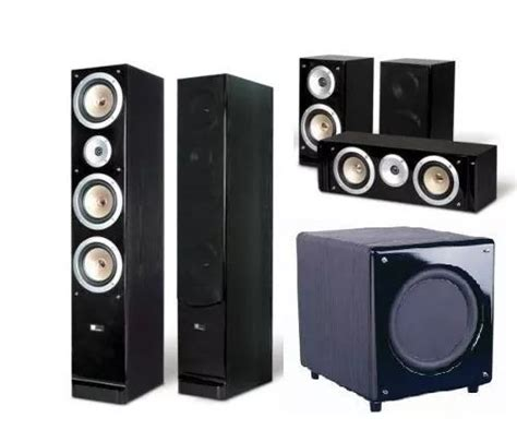 kit home theater  pure acoustics qx  sn
