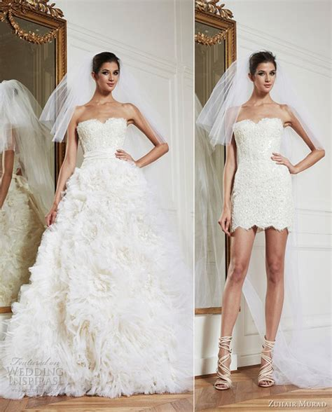 Zuhair murad wedding dresses fall winter 2013 bridal collection wedding inspirasi page 2