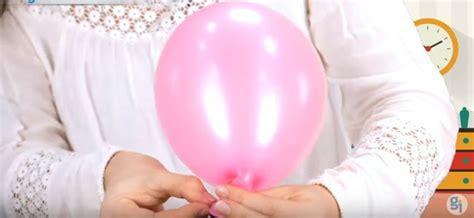 nudo de globo sin esquinas inflar un globo sin aire experimento divertido para ni 241 os