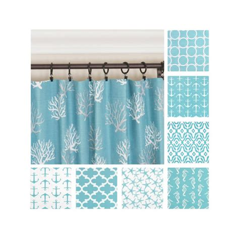 Aqua Blue Window Valance Aqua Curtains Blue Window Curtains Nautical Curtains Kitchen
