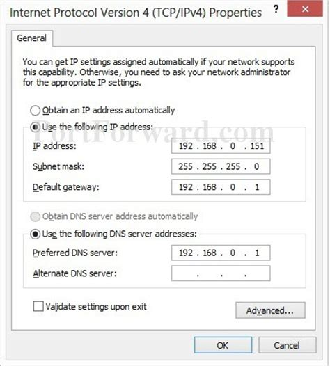 how to configure a static ip address in red hat centos setting a static ip address in windows 8