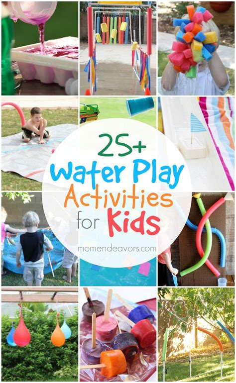 backyard cing ideas for children best 25 outdoor water activities ideas on pinterest