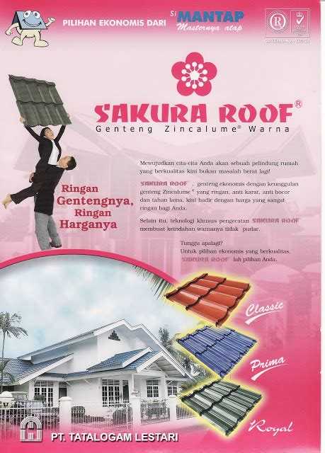 Multiroof Palembang genteng metal multiroof sakuraroof search engine